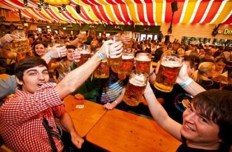Fiesta de la cerveza en Stuttgart